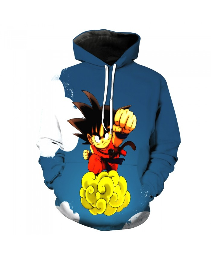 Classic anime Dragon Ball Z Hoodie 2021 New Design Cute kid Goku 3d Printed Hoodies casual Pullover