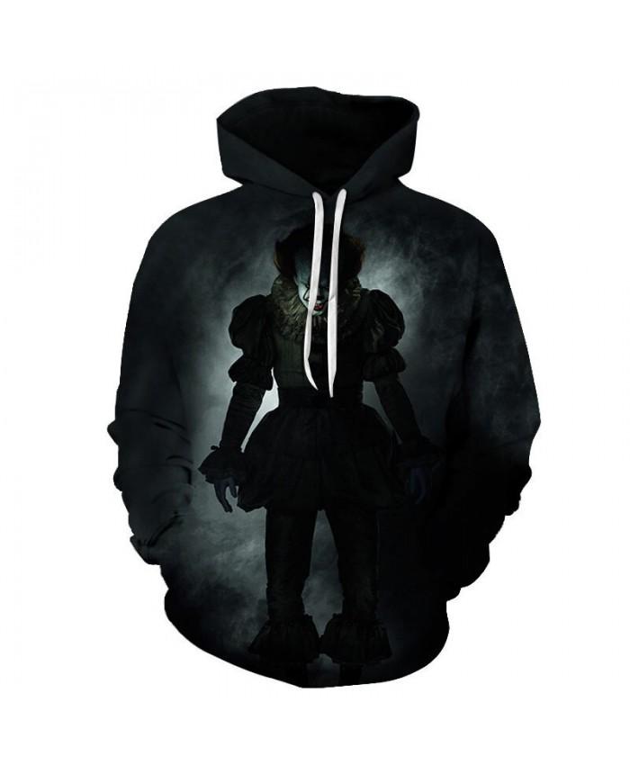 Clown Returning Soul 3D Printed Men Pullover Sweatshirt Clothing for Men Custom Pullover Hoodie Casual Hoodies Men