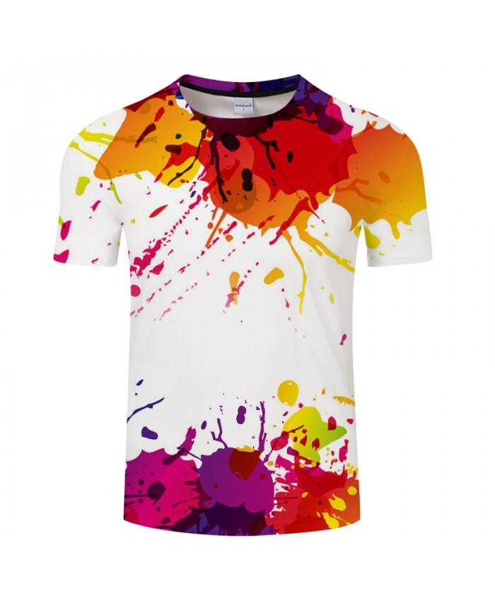 Colorful 3D Print T shirt Men Women Fashion Sweatshirt Male t shirt Casual Tops&Tees Pullover Drop Ship Tshirts