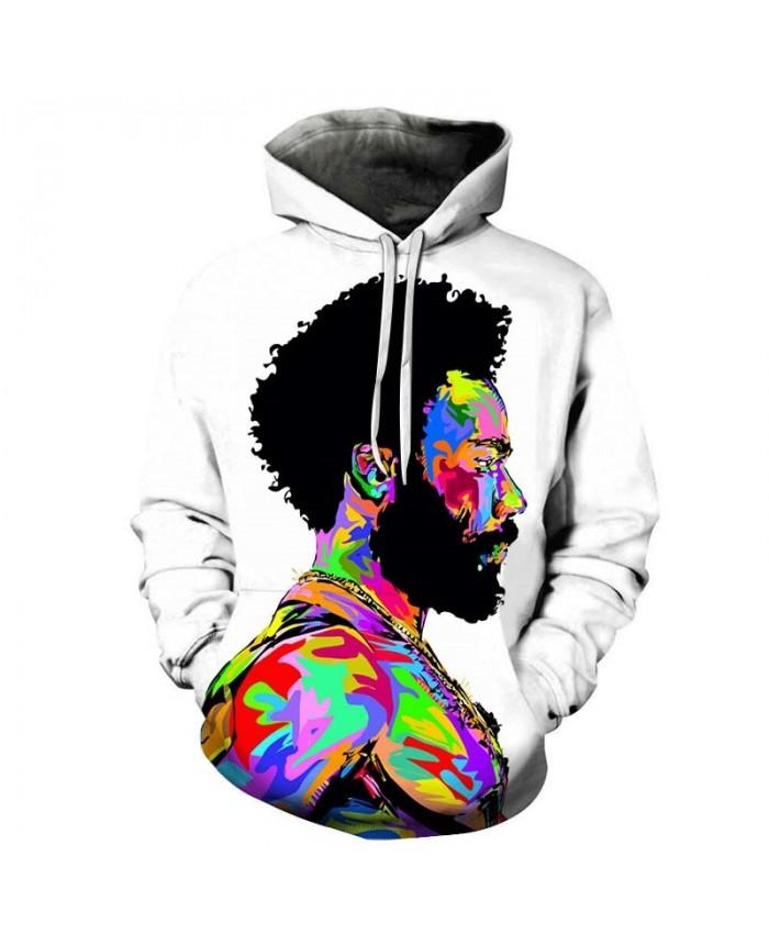 Colorful People Mens Pullover Sweatshirt hoodies Pullover Sweatshirt Fashion Hoodie Long Sleeve