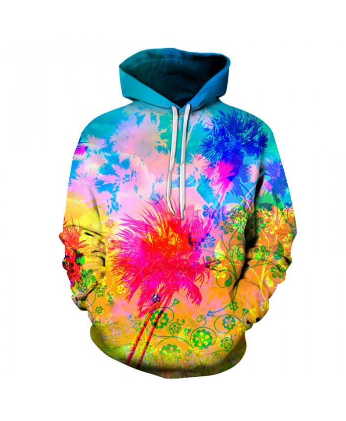 Colorful Splash paint 3D Sweatshirt Men Women Hoodies Hot Sale Quality Pullover 6XL Autumn Tracksuits Fashion Casual Jacket Coat