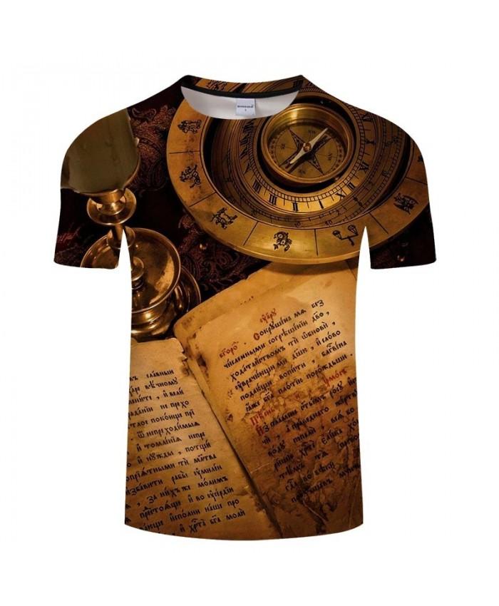Compass Movie 3D Print Men tshirt Crossfit Shirt Casual Summer Short Sleeve Male tshirt Brand Men Fashion Round Neck