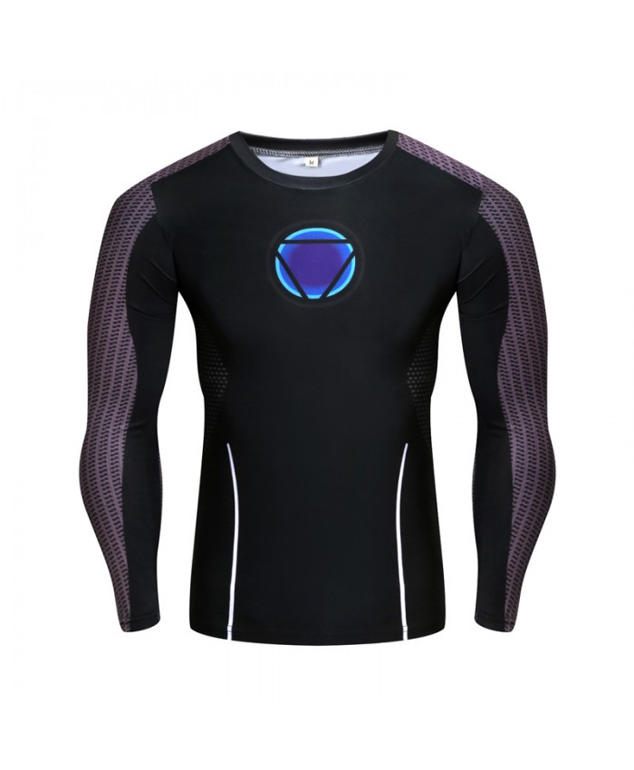 Compression Tops Iron Man Cosplay 3d T shirt Men Tee Capatain America/Spiderman Mens T-shirt 2021 Elastic top