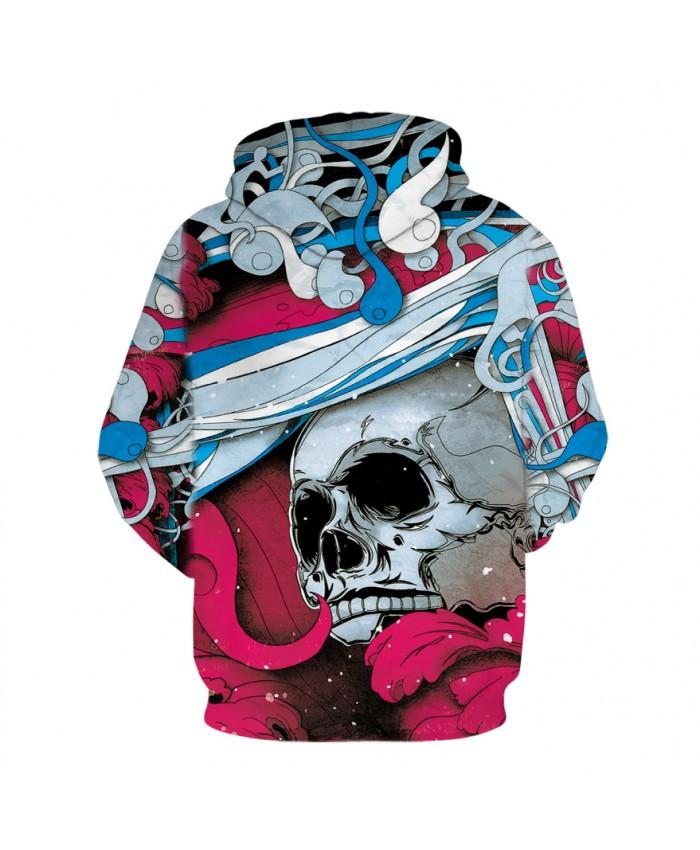 a88985ea8299 Cool Paint Skull 3D Printed Art Hoodies Men Women Sweatshirts Hooded ...