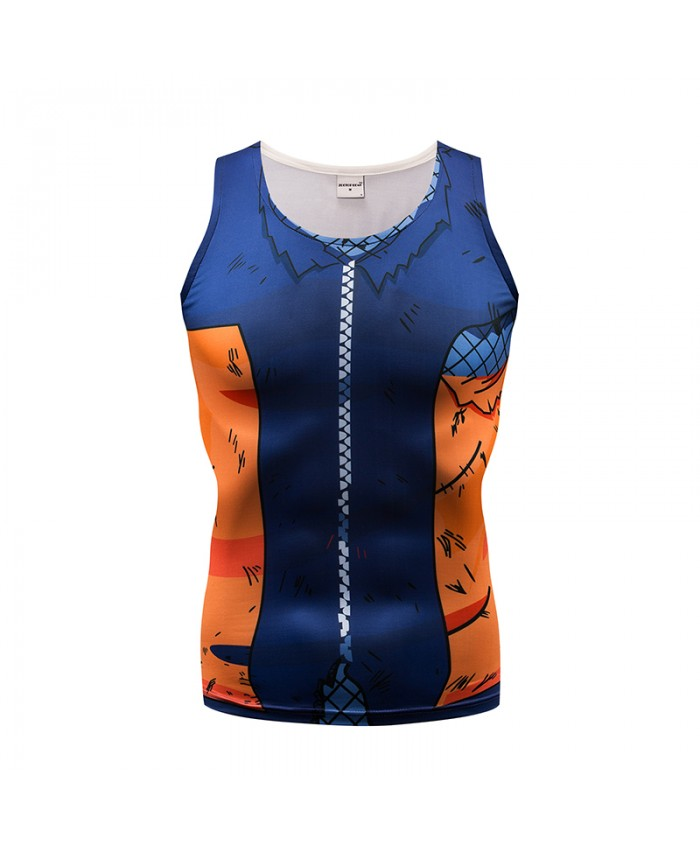 Cool Tank Top Men Women Vest Male singlet Anime Top&Tee Fitness Underwaist Bodybuilding Women Sleeveless 2018 Summer