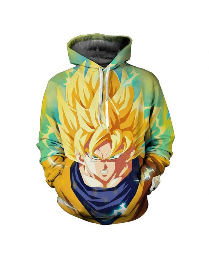 Cosmos Classic anime Dragon Ball Z Men Women Hooded Outerwear Handsome Goku 3D All Over Print Pullover casual Hoodies