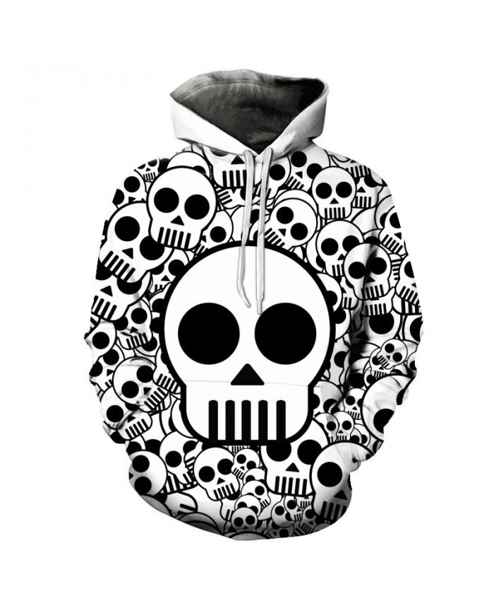 Cute Skull Printed Brand 3D Hoodies Men Women Sweatshirts One Piece Anime Pullover Hooded Autumn 6XL Tracksuits Boy Jackets