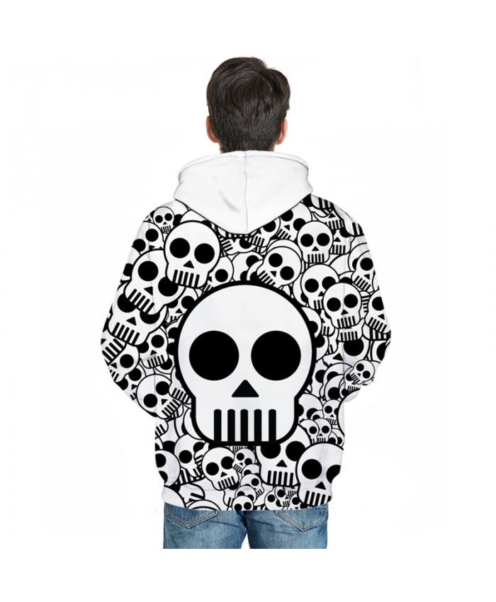 28134756e Cute Skull Printed Brand 3D Hoodies Men Women Sweatshirts One Piece ...