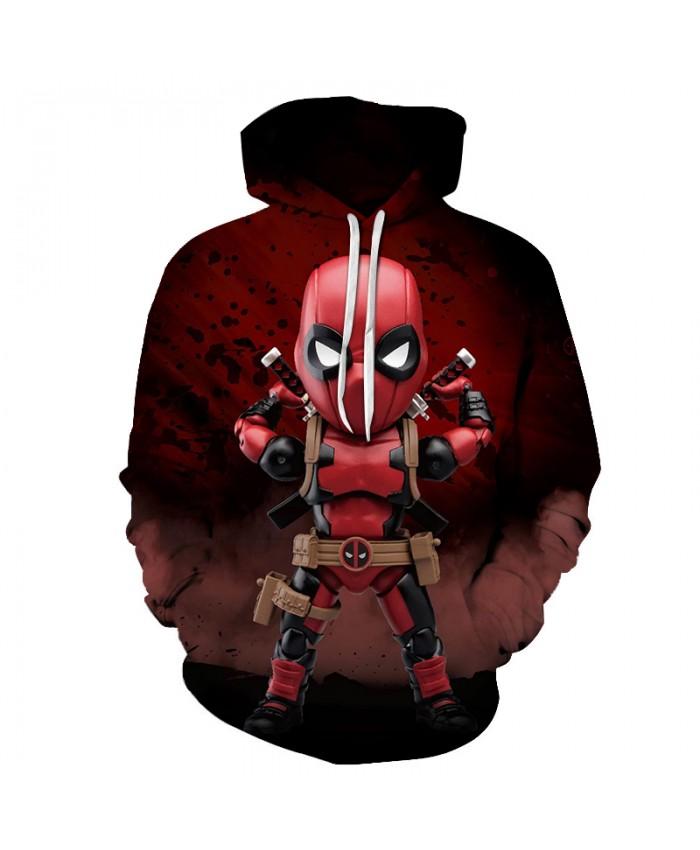 Deadpool 2 print 3D Hoodies Men Women Superhero Hoody Funny Sweatshirt Unisex Pullover Novelty Hoodie Male Tracksuit Brand Coat