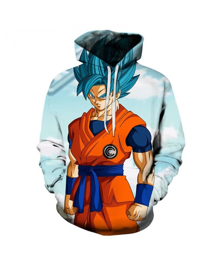 Dragon Ball Clenching Fist 3D Hoodies Mens Pullover Sweatshirt Brand Cosplay Pullover Hoodie Casual Hoodies Men