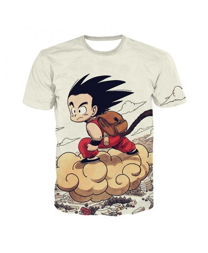 Dragon Ball DBZ Bulma Super Saiyan Vegeta T-shirt 3D Men Women Anime Kid Goku Goten Gohan T shirt Harajuku Lonzo Ball Tee Shirts