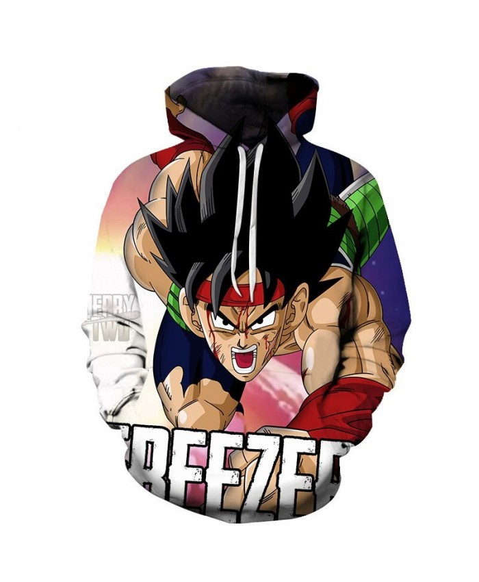 Dragon Ball Forehead Bleeding 3D Hoodies Mens Pullover Sweatshirt Brand Cosplay Pullover Hoodie Casual Hoodies Men