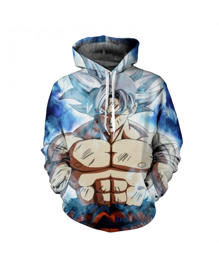 Dragon Ball Hoodies 3D Anime Hooded Sweatshirts Kid Goku Hoodies Pullovers Men Women Long Sleeve Outerwear