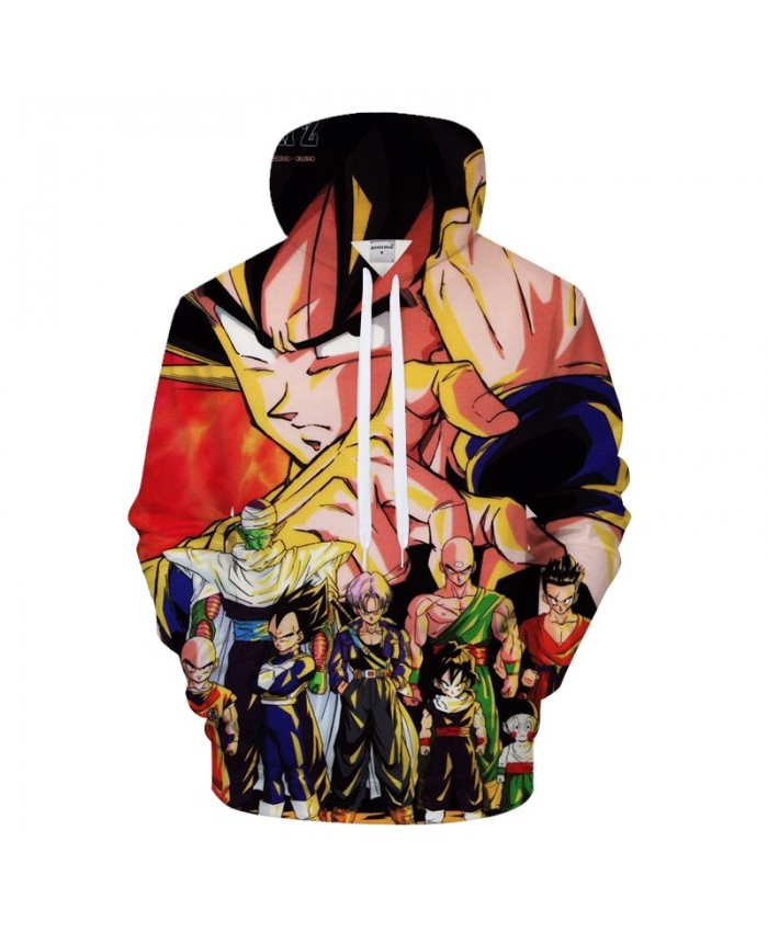 Dragon Ball Hoodies Men 3D Hoody Male Goku Sweatshirt Anime Tracksuit Pullover Super Saiyan Streatwear Dropship