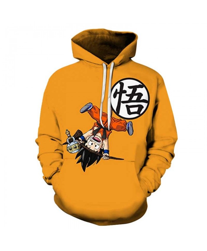 Dragon Ball Men Hoodies Fashion Male Hoodie Adult Casual Men's Hoody Gift Harajuku Popular Long Sleeve Drop Ship