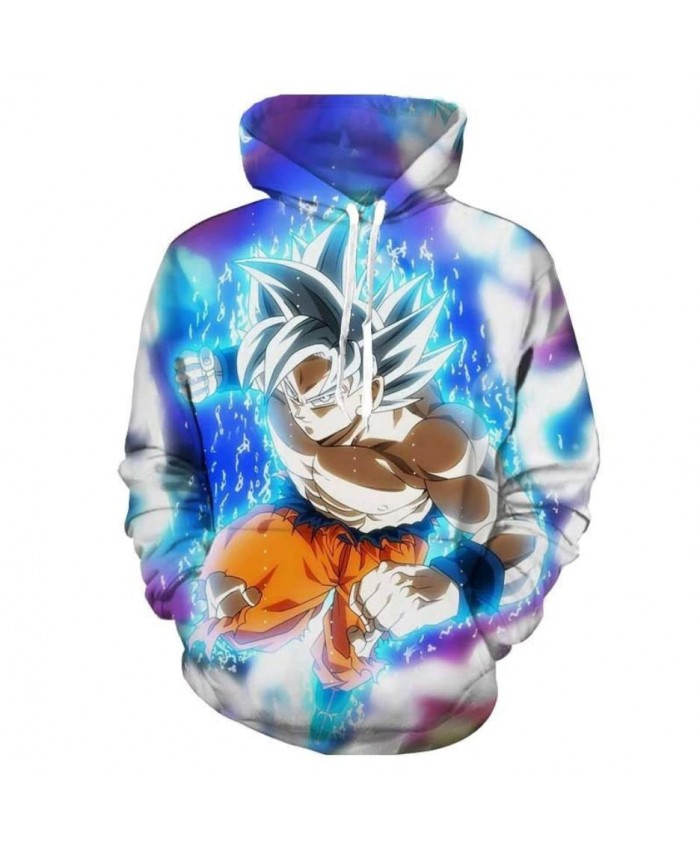 Dragon Ball Super 3D Print Hoodies Men Women Sweatshirts Hoody Cartoon Dragon Ball Super Broly Fashion Casual Plus Size Polluver J