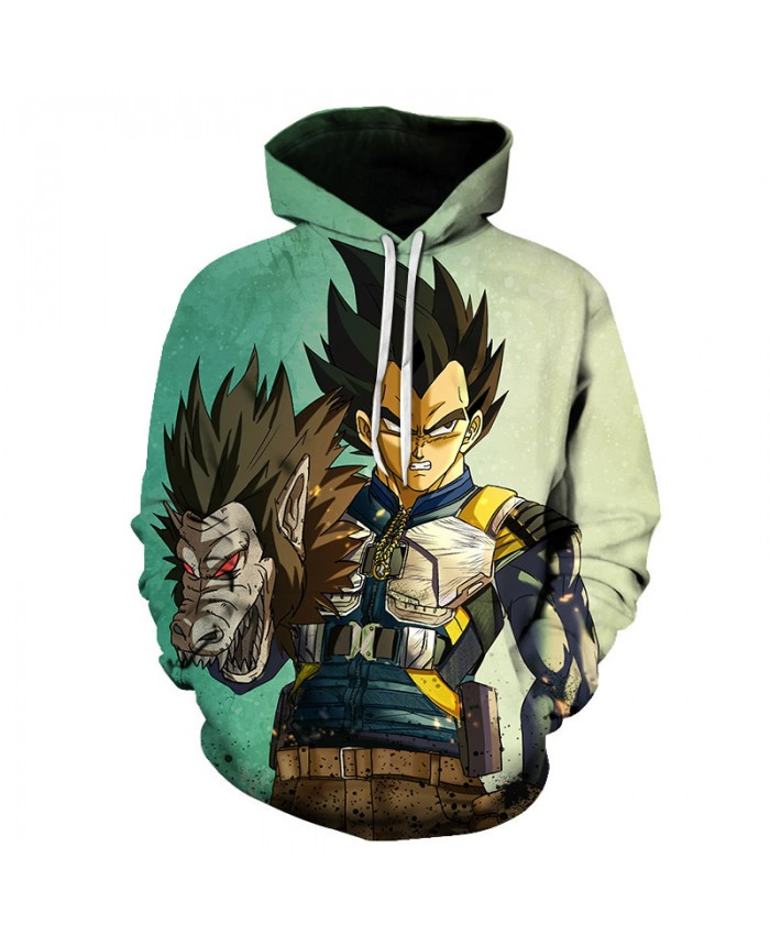 Dragon Ball Super Hoodie Long Sleeve Pullover Fashion Casual Design Men Women Tracksuits Streetwear Hoodies Plus Size