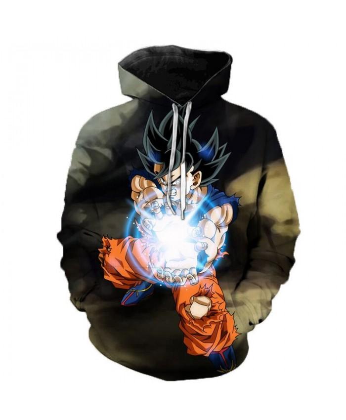 Dragon Ball Super Hoodie Long Sleeve Pullover Fashion Casual Design Men Women Tracksuits Streetwear Hoodies Plus Size C