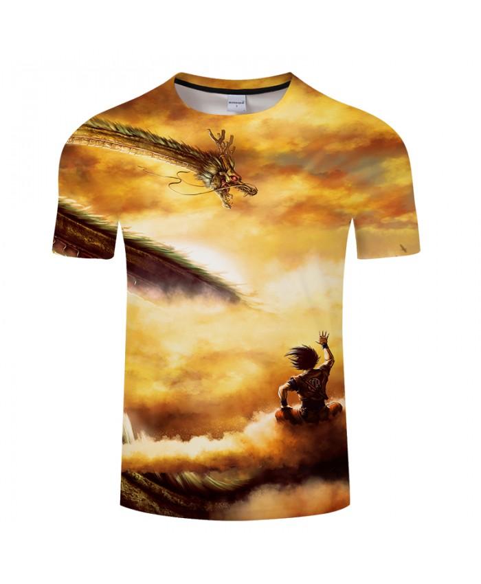 Dragon Ball Super Warrior 3D Print T shirt Men Women Summer Anime Boys Tops&Tees Tshirts Vegeta 2021 New Drop Ship