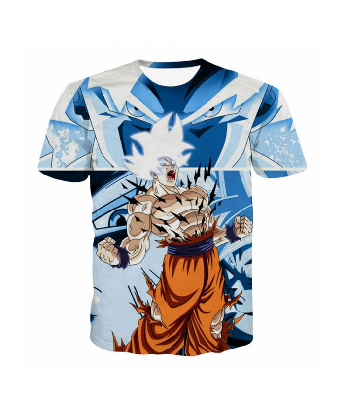 Dragon Ball T Shirt Men 3D Shirts Anime Fans Kids Goku Gohan Tee Tops Super Vegito Saiya Printed Camiseta Dragon Ball Z T Shirts