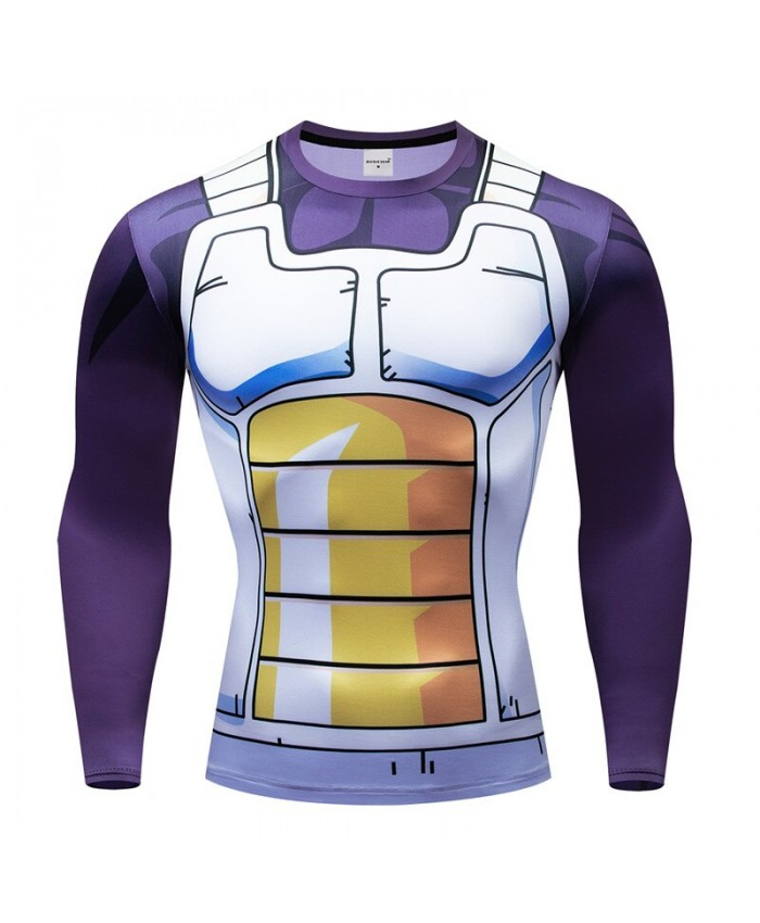 Dragon Ball T shirts Men Compression T-shirts Fitness Superheroes T-shirts Bodybuilding Top Hot Sale rashguard Brand D