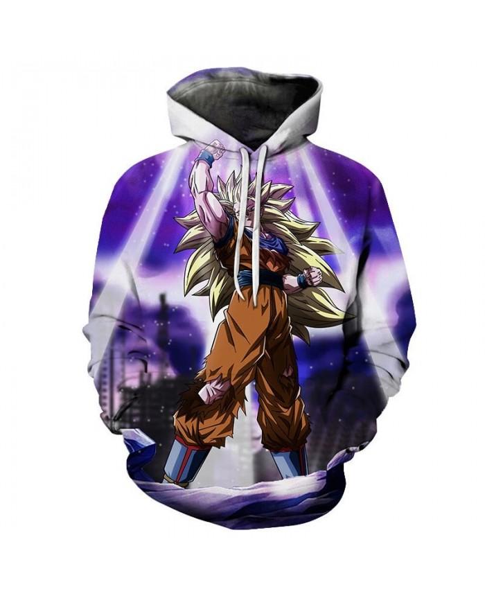 Dragon Ball VS Lightning 3D Hoodies Mens Pullover Sweatshirt Brand Cosplay Pullover Hoodie Casual Hoodies 2019 Men