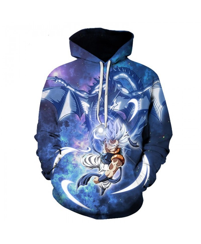 Dragon Ball Z 3D Printed Hooded Sweatshirts Men Women Cartoon Dragon Ball Super Boy/Girl Cool Polluver Casual Streetwear Hoodie