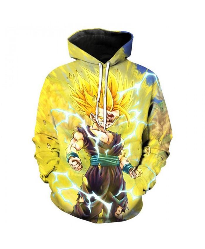 Dragon Ball Z Cosplay Hoodies 3d Hoodies Vegeta Goku Pullovers Sweatshirts Anime Funny Sweatshirt New Design Men&Women Jacket B