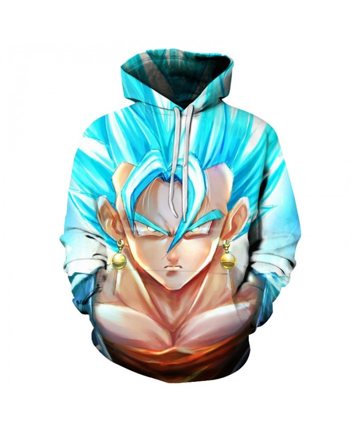 Dragon Ball Z Hoodies Anime Men Women Hooded Sweatshirts 3D Pullover Male Tracksuit Harajuku Hot Sale Funny Cartoon Kid Poakcet