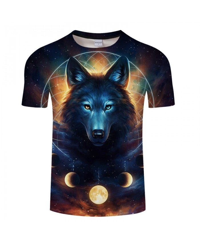 Dream Catcher By JojoesArt 3D Print t shirt Men Women tshirt Summer Casual Short Sleeve O-neck Wolf Tops&Tees Camiseta Drop Ship