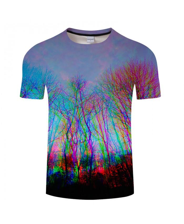 Dream Forest 3D Print t shirt Men Women tshirt Summer Casual Short Sleeve O-neck Tops&Tees 2019 Streetwear Drop Ship