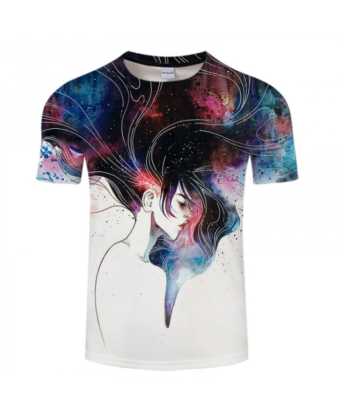 Dreamy Girl Printed T-shirt Brand Design Men Tshirts Women Anime 3D t shirt Summer Tops&Tees Drop Ship Hot Sale