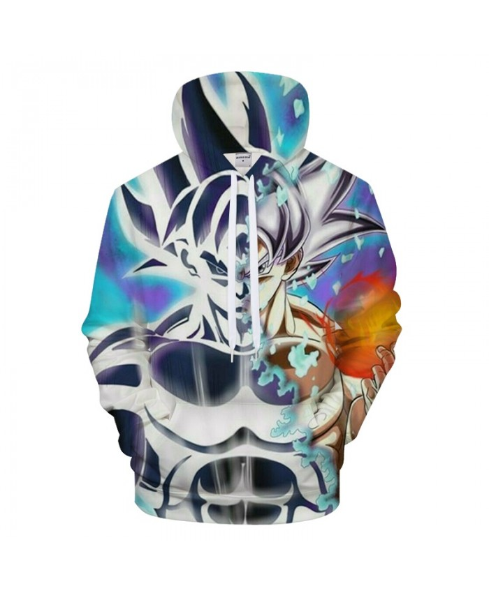 Dreamy Goku 3D Hoodie Men Hoody Dragon Ball Streatwear Tracksuit Anime Sweatshirt Super Saiyan Coat Pullover DropShip