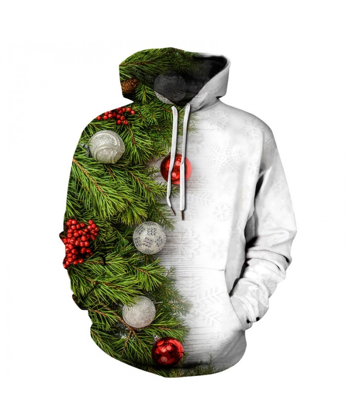 EU Size Christmas Tree Hoodies Hoodie Men Women Autumn Winter Hoody Tops Long Sleeve Pullovers 3D Tracksuit Sweatshirts