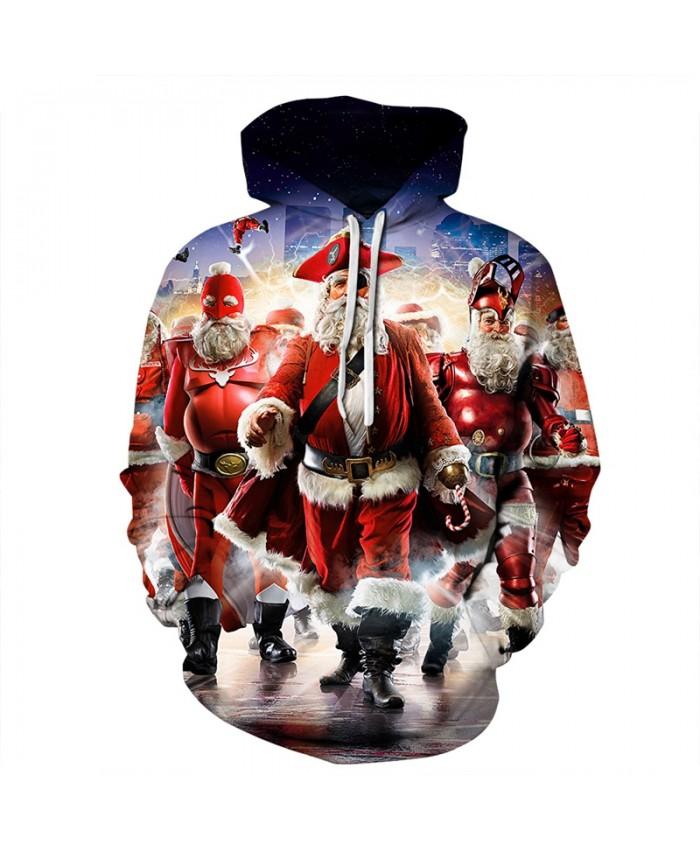 EU Size New Christmas Print 3D Hoodies Sweatshirts Men Women 2019 Fashion Hip Hop Pullover Hoody Tops Casual Plus Size Clothing