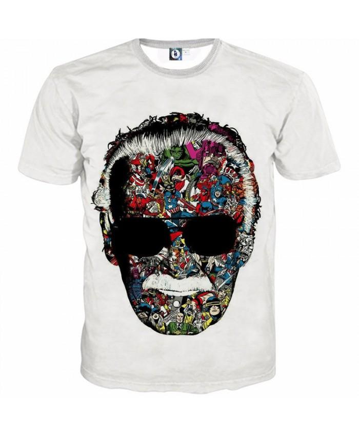 EU Size spider print 3D T shirt Men Women Unisex Tshirts With 3D Print Unique Summer Autumn Winter Loose Thin Tshirt Top&Tees8