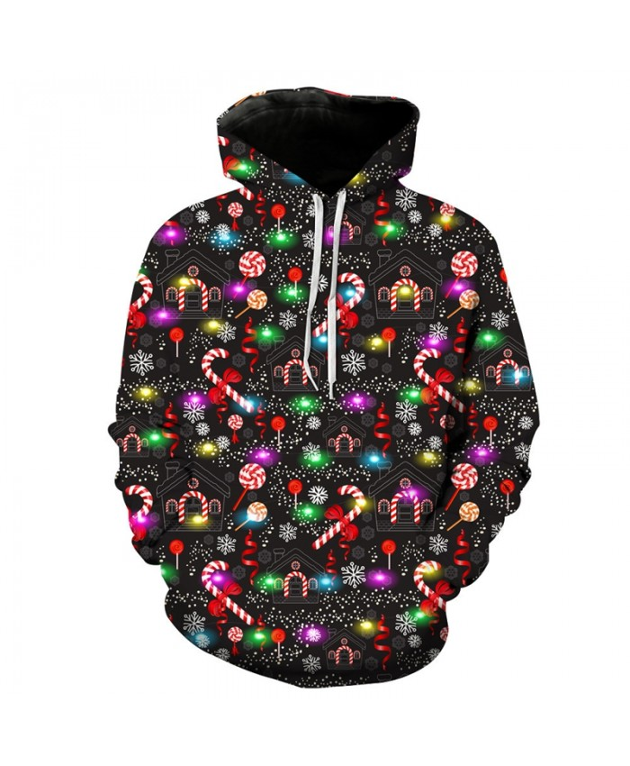 EUR Size Cute Christmas Gift Print 3D Hoodie Men Women Unisex Sweatshirt Tracksuits Hip Hop Loose Casual Coat Hoody Top Dropship B
