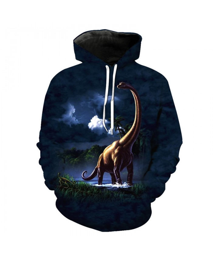 Earth Dominance Dinosaur Hoodie Latest 3D Fashion Pullover