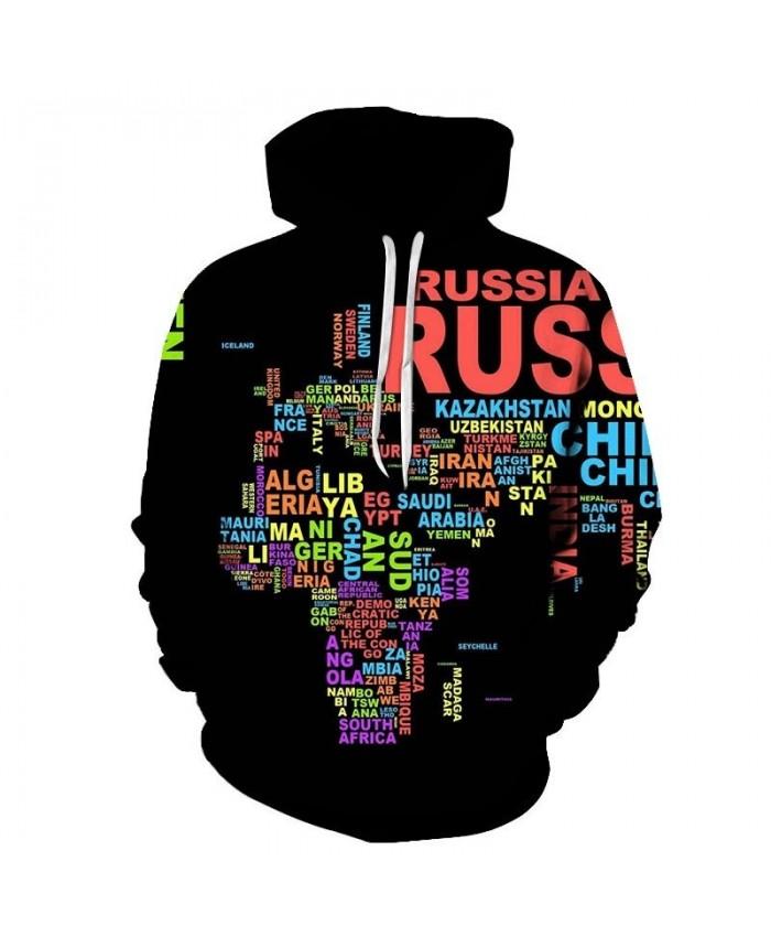 English Combination 3D Printed Men Pullover Sweatshirt Pullover Hoodie Fashion Casual Men Streetwear Sweatshirt