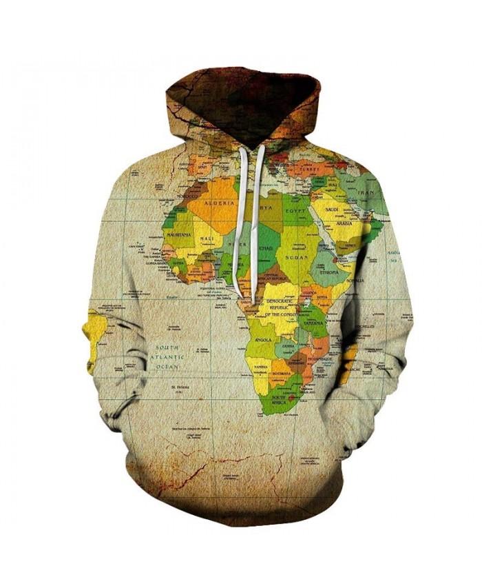 Equatorial Line Map 3D Printed Men Pullover Sweatshirt Pullover Hoodie Casual Hoodies Fashion Men Hoodie Streetwear