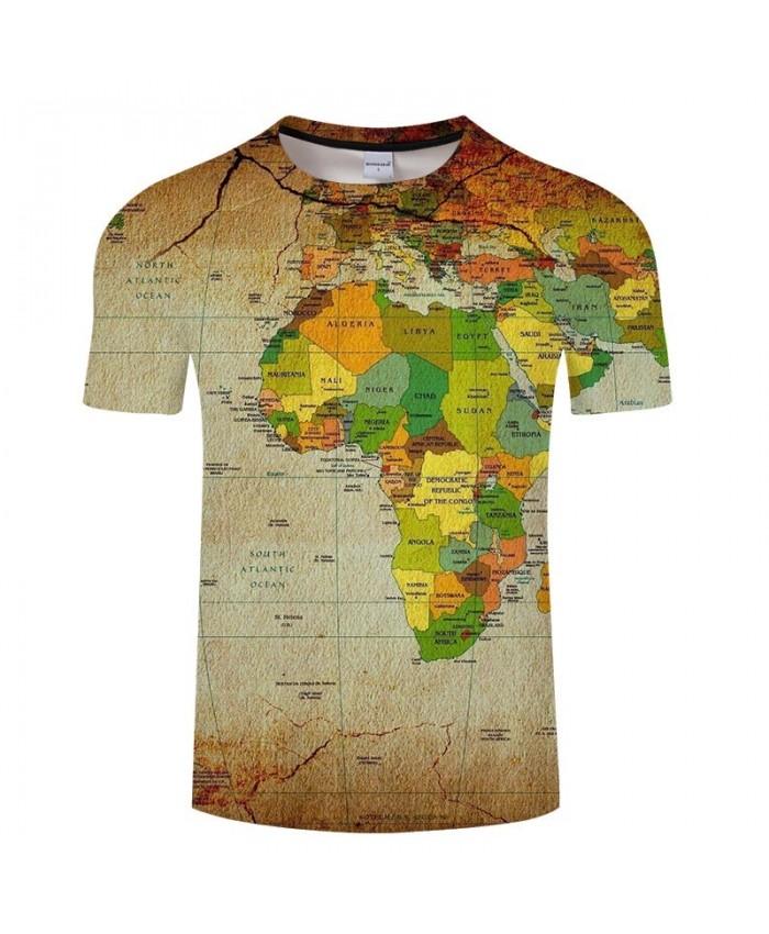 Equatorial Line Map 3D Printed Men tshirt Mens Shirt Casual Summer Short Sleeve Male tshirt Brand Men Round Neck