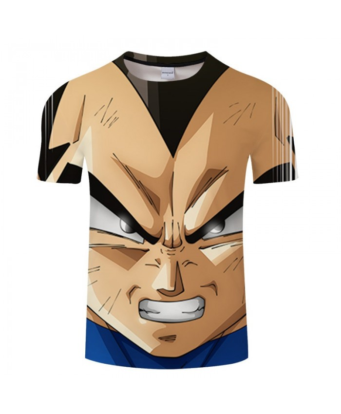 Eyes Diverging White Light Goku Contradict 3D Print Men tshirt Anime Casual Summer Loose Short Sleeve Male Drop Ship