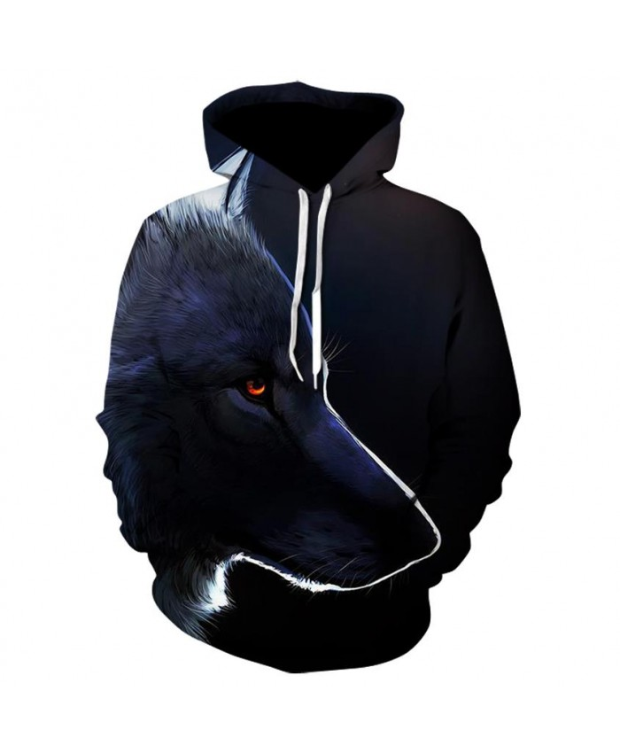 Fashion Cool Wolf's gaze Hoodies Men Women Thin 3D Sweatshirts with Hat Animal Print Wolf's gaze Hoodie Sweatshirt Mens Tracksuit Jackets