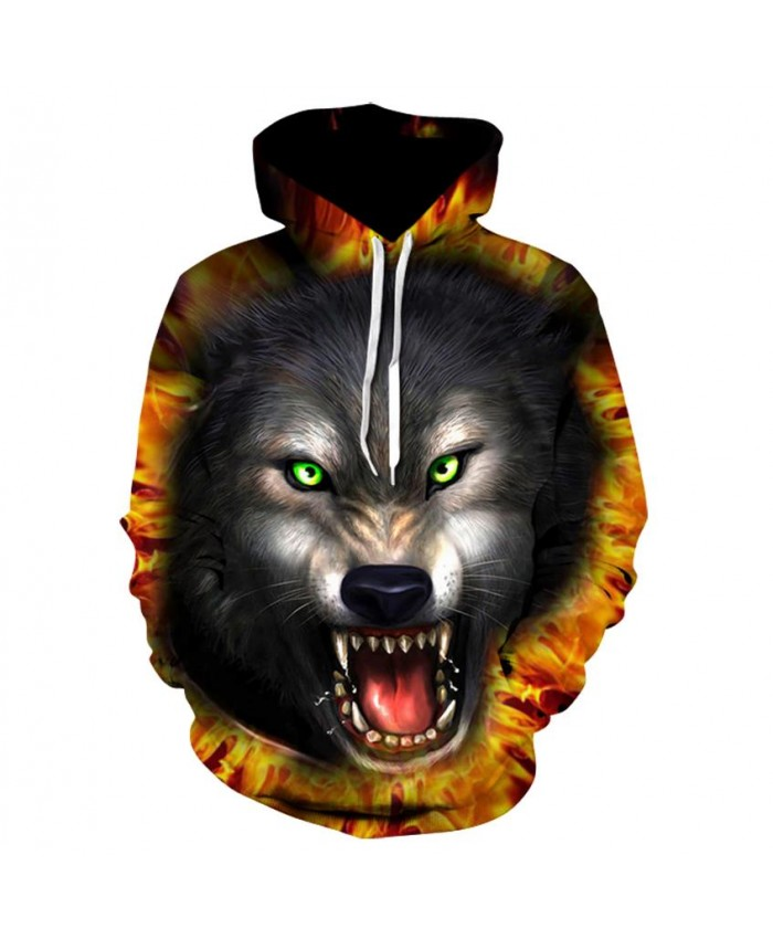 Fashion Cool Wolf Hoodies Men/Women Thin 3D Sweatshirts with Hat Animal Print Wolf Hoodie Sweatshirt Mens Tracksuit Jackets