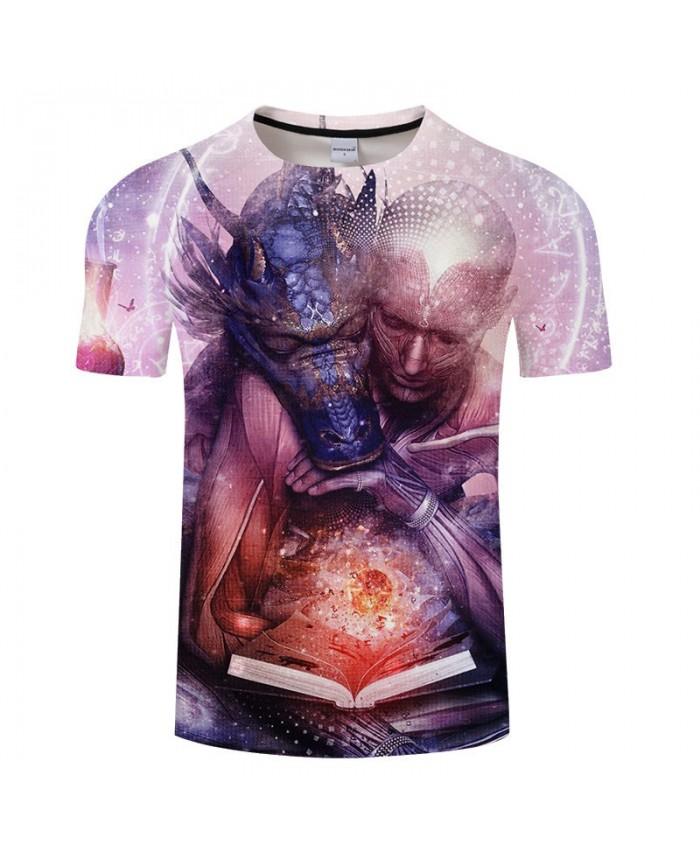 Fashion Men T-shirt Mens tshirt harajuku Summer Short Sleeve Dragon Ball Anime Print Tops Tees Plus Size Drop Ship