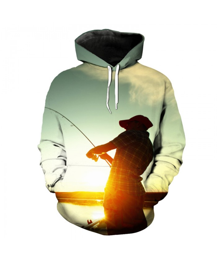 Fashion fun 3D hooded pullover casual sportswear Men Women Casual Pullover Sportswear