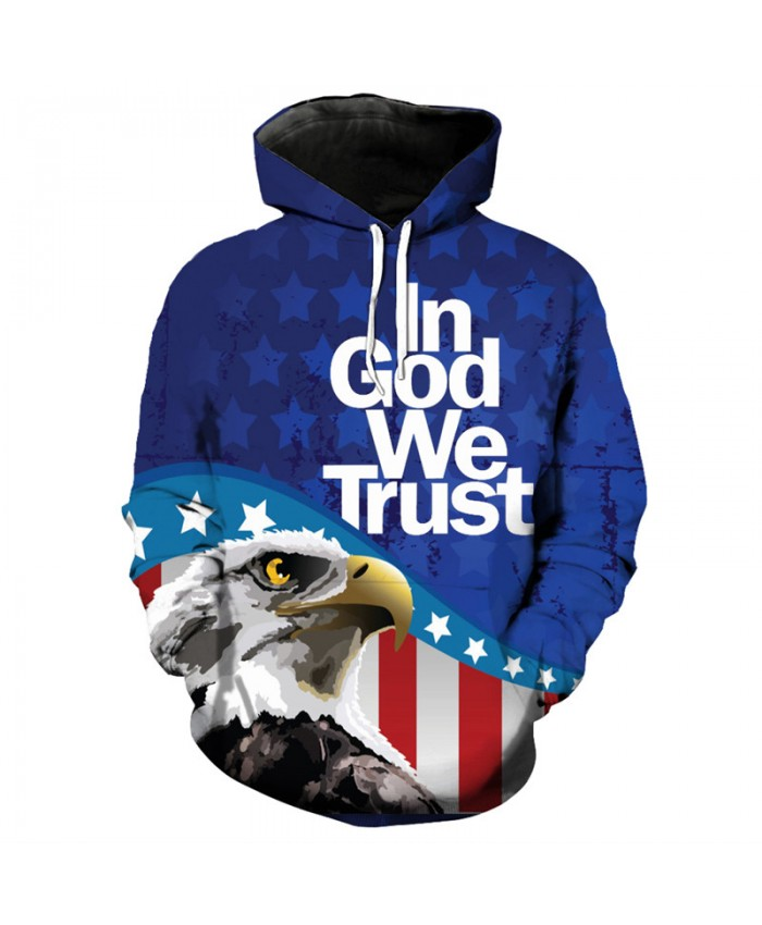 Fashion men's hoodie eagle series fun fashion hooded pullover sportswear Casual Hoodie Autumn Tracksuit Pullover Hooded Sweatshirt