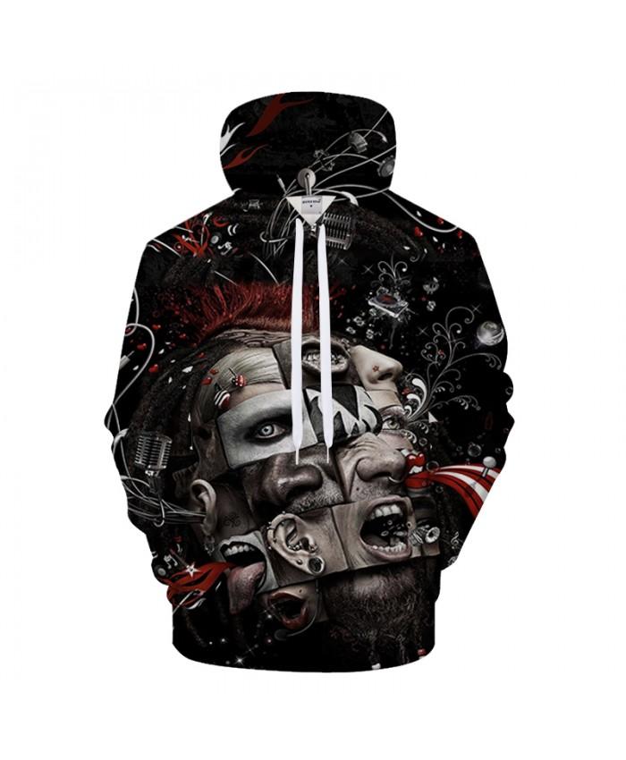 Feature 3D Print Hoodies Men Hoody Funny Tracksuit Casual Sweatshirt Long Sleeve Pullover Coat Streatwear Drop Ship