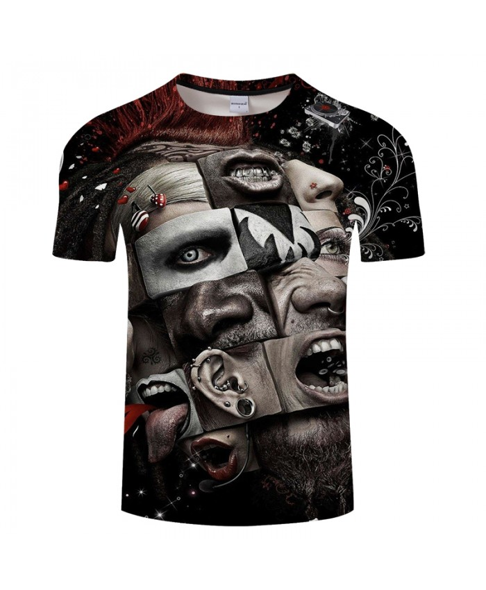 Feature 3D t shirt Men tshirt Pattern T-Shirt Summer Casual Tops Short Sleeve Tees O-neck Streetwear Male Drop Ship
