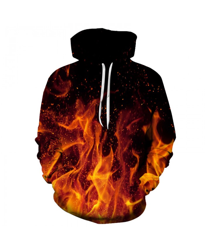 Fire Printed 3D Men Women Hoodies 6XL Sweatshirts Quality Hooded Jacket Novelty Streetwear Fashion Casual Pullover